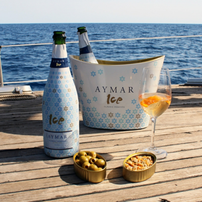 aymar ice tijdens de zomer wijnhuis Oinos
