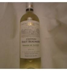 Château Haut Beaumard - Graves de Vayres 2015 wit
